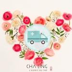 Cha Ling apporte son soutien au personnel soignant
